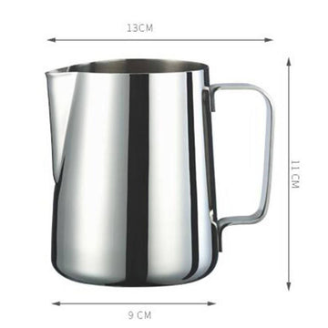 Tiamo Mirror Finish 18-8 Stainless Steel Milk Pitcher