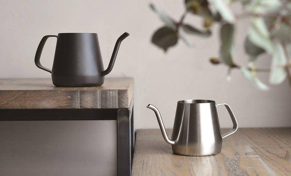 KINTO POUR OVER KETTLE 430ML STAINLESS STEEL - BUNAMARKET