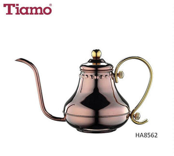 Tiamo Stainless Steel Coffee Pot 0.42L