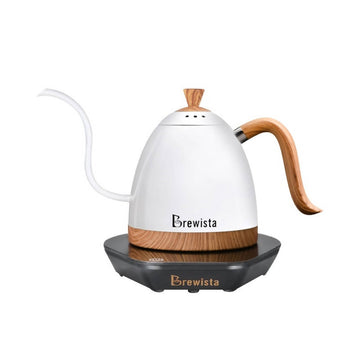 Brewista Artisan 600ml Gooseneck Variable Temperature Kettle - Pearl White