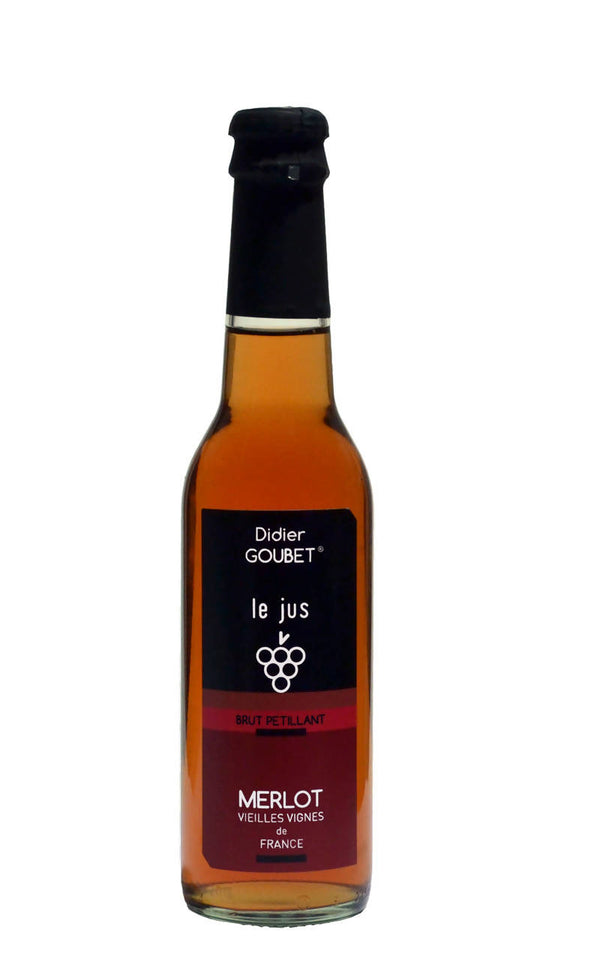 Didier Goubet Sparkling Merlot Grape Juice (250ML) - BUNAMARKET