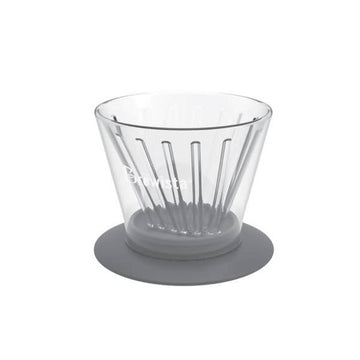 BREWISTA Flat V-Cone Glass Dripper
