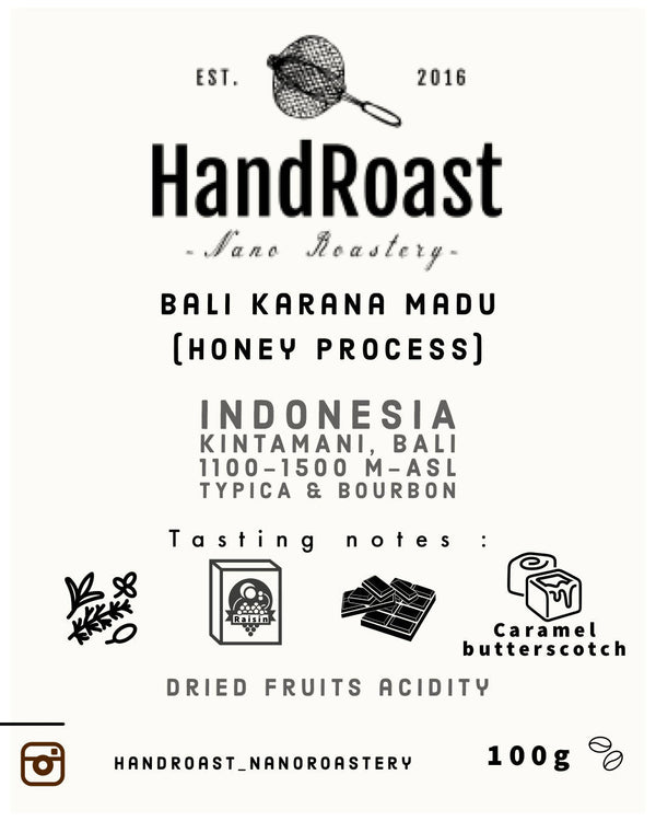 Bali Kintamani Madu ( Honey Process) - BUNAMARKET