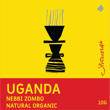 DRIP BAG - UGANDA NEBBI ZOMBO NATURAL ORGANIC