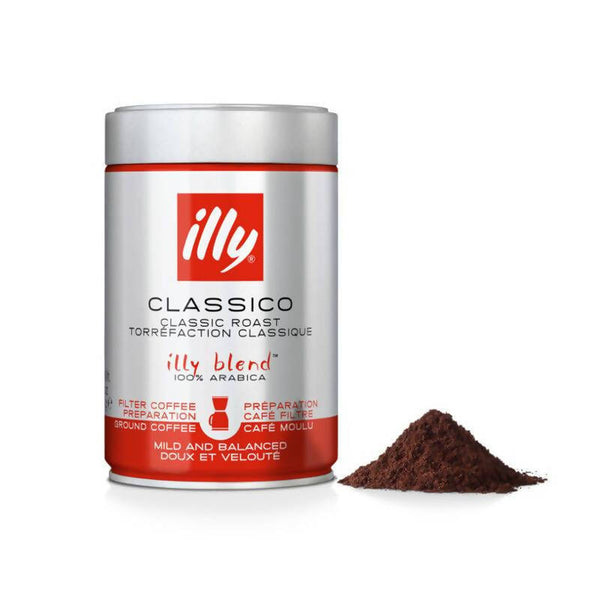 illy Classico Ground Filtered Coffee - 250g - BUNAMARKET