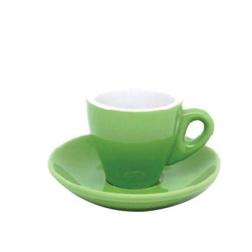 INCASA TULIP - Cappuccino Coffee Cup with Saucer (210ml)