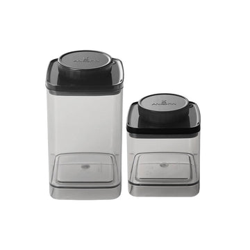 ANKOMN Turn-N-Seal Vacuum Container (0.6L + 1.2L )