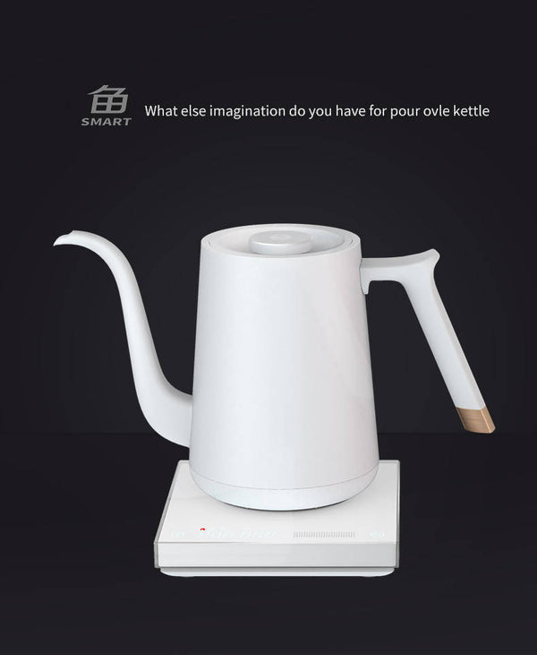 TimeMore Fish Electric Pour Over Kettle - BUNAMARKET