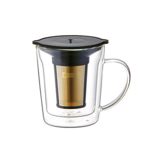 CORES C412 GOLD FILTER DOUBLE WALL MUG - BUNAMARKET