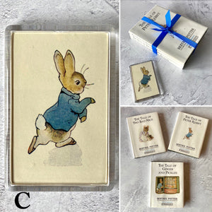 Beatrix Potter vintage book bundle with keyring or magnet (choose your bundle).