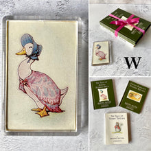 Load image into Gallery viewer, Beatrix Potter vintage book bundle with keyring or magnet (choose your bundle).