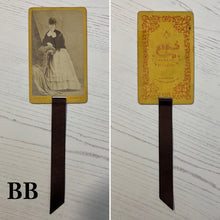 Load image into Gallery viewer, Bookmark made from a Victorian Carte de Visite
