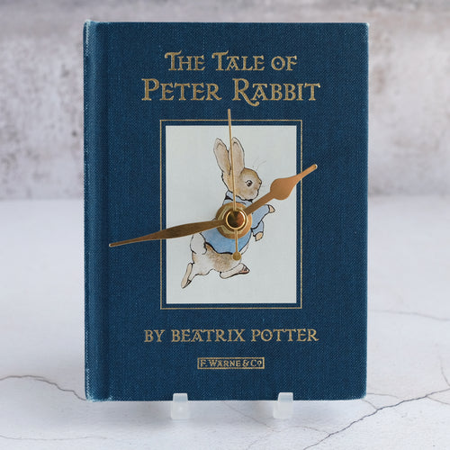 Peter Rabbit book clock.