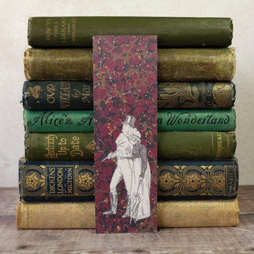 Pride and Prejudice bookmark.  What think you of books?