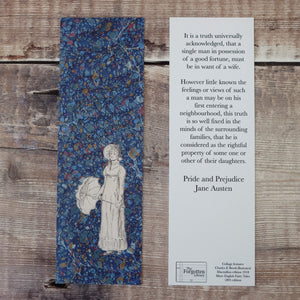 Pride and Prejudice bookmark.  It is a truth universally acknowledged...