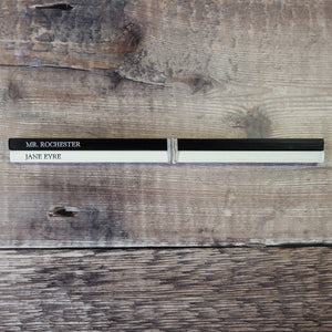 Jane Eyre & Mr. Rochester pencil pair