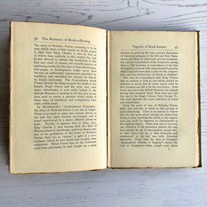 The Romance of Book-collecting by F. H. Slater 1898 hardback book.