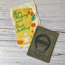 Load image into Gallery viewer, Vintage ephemera selection - photographs, jam making leaflet, co-operative society, 1935 receipt