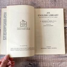 Load image into Gallery viewer, English Library - an annotated guide to 1300 classics. Vintage book (1943) National Book Council.