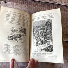 Load image into Gallery viewer, The True Story Book edited by Andrew Lang.  1894 leather bound school prize.