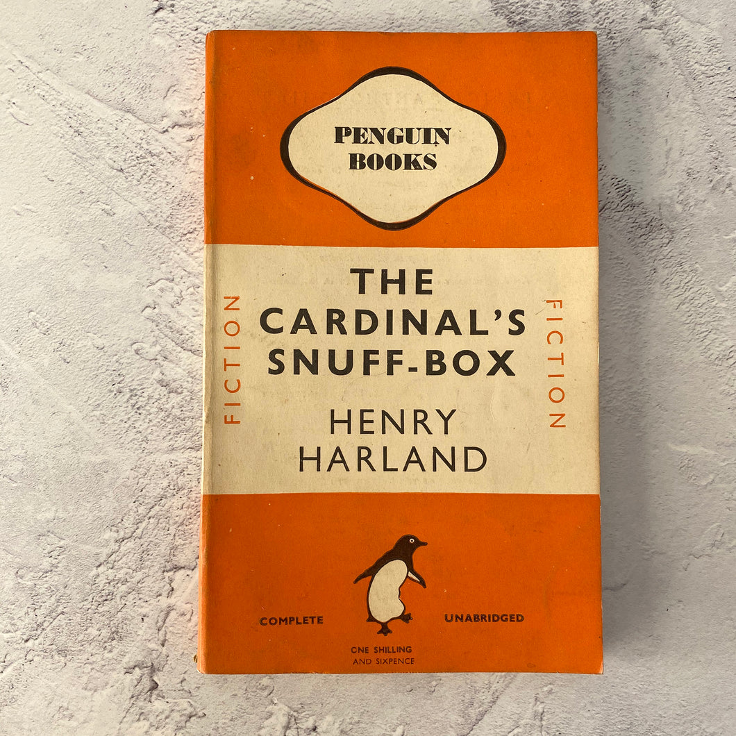 The Cardinal's Snuff-Box by Henry Harland.  Penguin Books paperback 580.  1946.