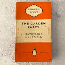 Load image into Gallery viewer, The Garden Party by Katherine Mansfield.  Penguin Books paperback 799.  1951.