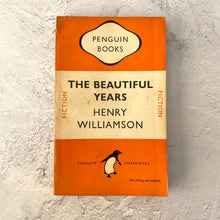 Load image into Gallery viewer, The Beautiful Years - Henry Williamson.  Penguin Books paperback 696.  1949.