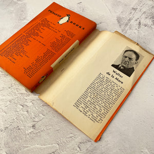 The Return by Walter De La Mare.  Penguin Books/The Bodley Head paperback 38 with paper wrapper.  1936.  Original photo inside as a bookmark.