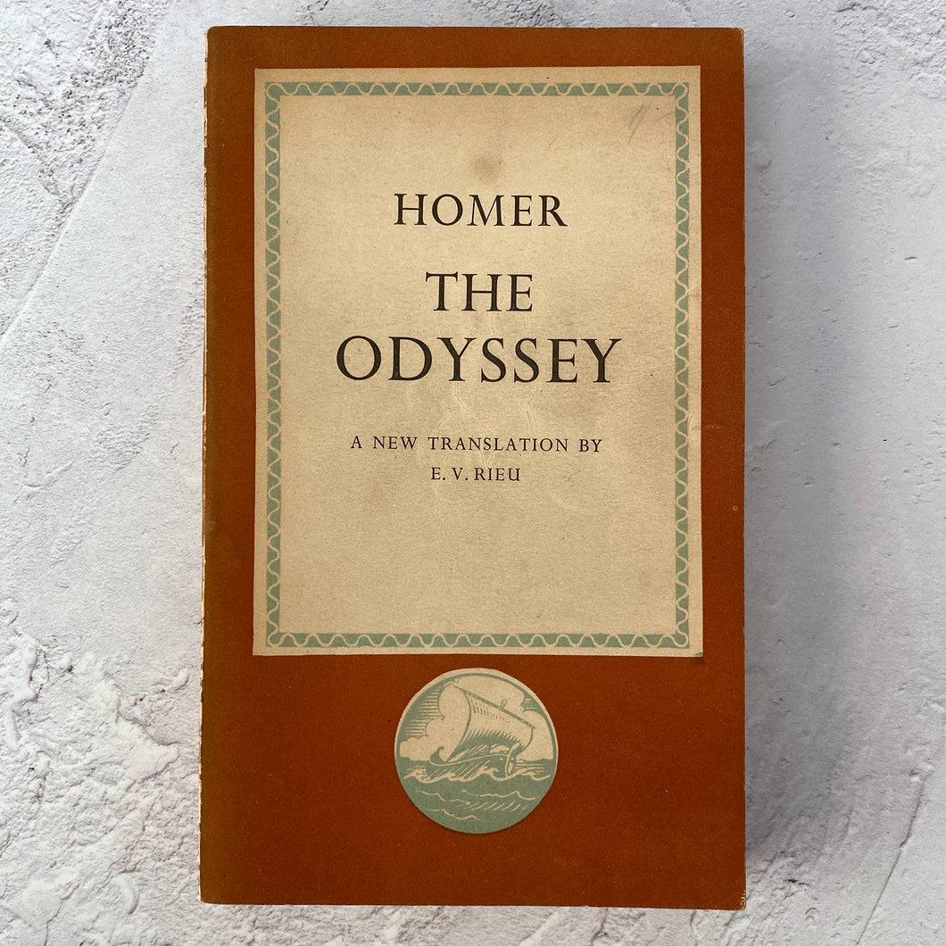 The Odyssey by Homer.  Penguin Books paperback.  1945.