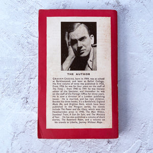 The Lawless Roads by Graham Greene.  Penguin Books paperback 559.  Published 1947.
