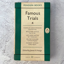 Load image into Gallery viewer, Famous Trials 4.  Penguin Books paperback.  983.  1954.