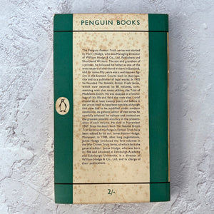 Famous Trials 4.  Penguin Books paperback.  983.  1954.