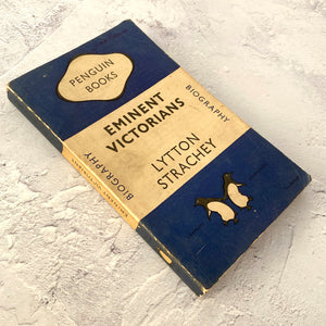 Eminent Victorians by Lytton Strachey.  Penguin Books paperback biography.  649.  1948.