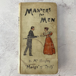 Manners For Men by Mrs Humphry (1897)