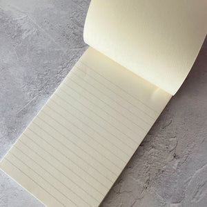 Vintage notepaper writing pad.