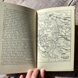 Tramping In Derbyshire Country Life walking guide from 1934.  Ex-Library copy.