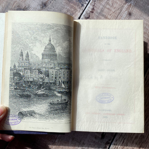 Handbook to St. Paul's Cathedral 1879 ex-library copy.   Nicely rebound.