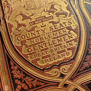 Book plates from County Seats of the Noblemen & Gentlemen of Great Britain & Ireland, ideal to frame.