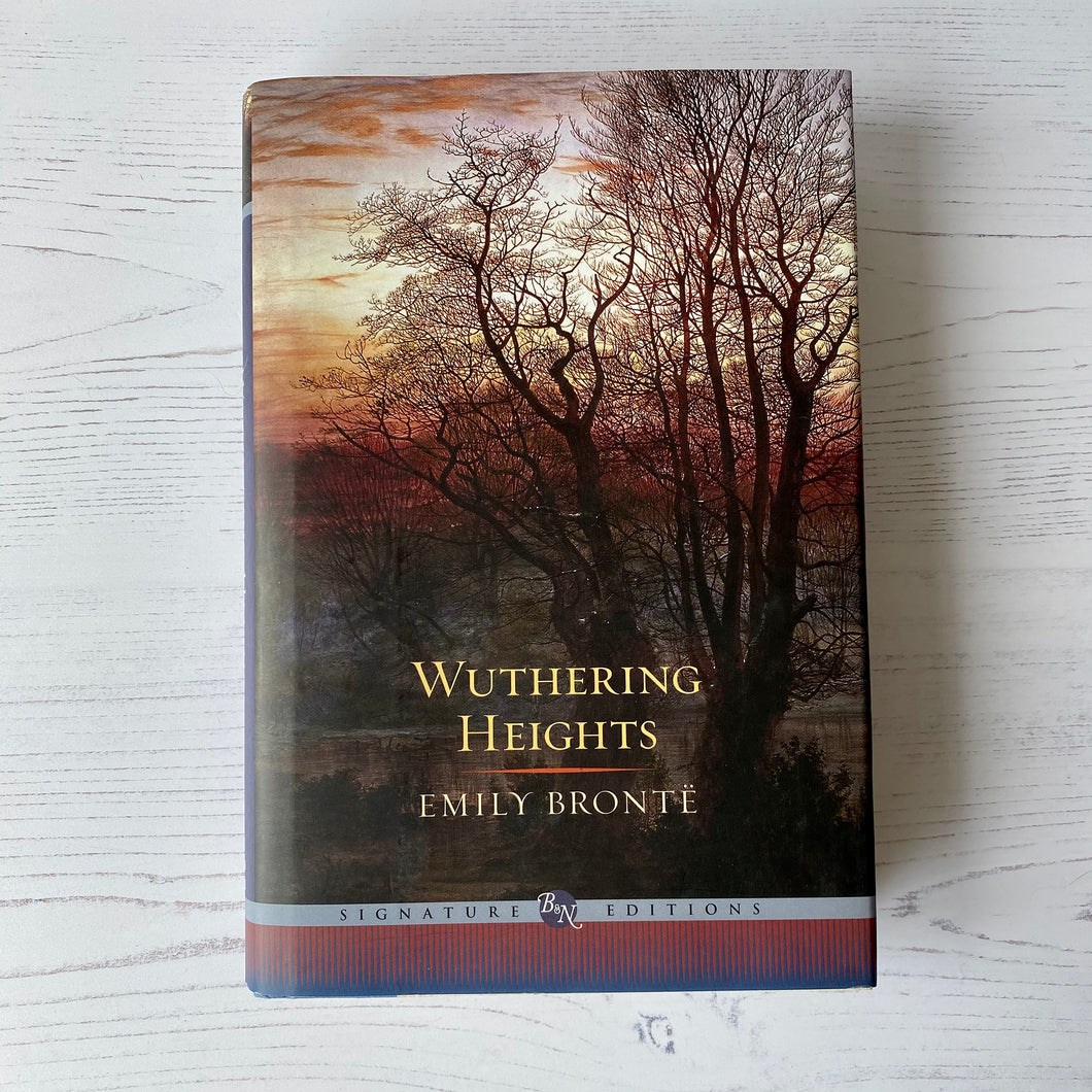 Wuthering Heights - Emily Brontë Barnes & Noble signature edition