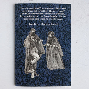 Jane Eyre Governess quotation card