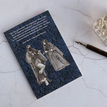 Load image into Gallery viewer, Jane Eyre illustration card meeting Mr Rochester