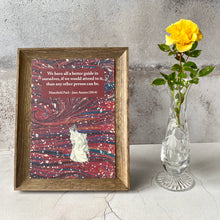 Load image into Gallery viewer, 3 FOR 2 A5 PRINTS OFFER. Mansfield Park Jane Austen quotation.  We have all a better guide in ourselves....