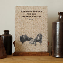 Load image into Gallery viewer, SALE Print (A5) Sherlock Holmes 2020 (lockdown at 221b Baker Street).