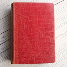 Load image into Gallery viewer, Red leather bound Cowper's Poetical Works 1905