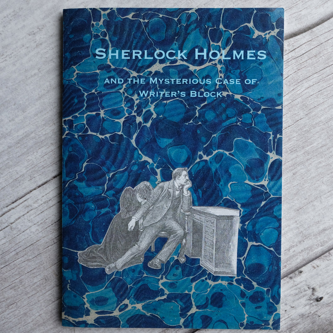Writer's Block Sherlock Holmes notebook A5 slimline, lined pages.