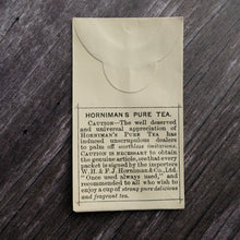 Load image into Gallery viewer, Alternative version Horniman's Pure Tea small paper envelope from a Victorian apothecary.