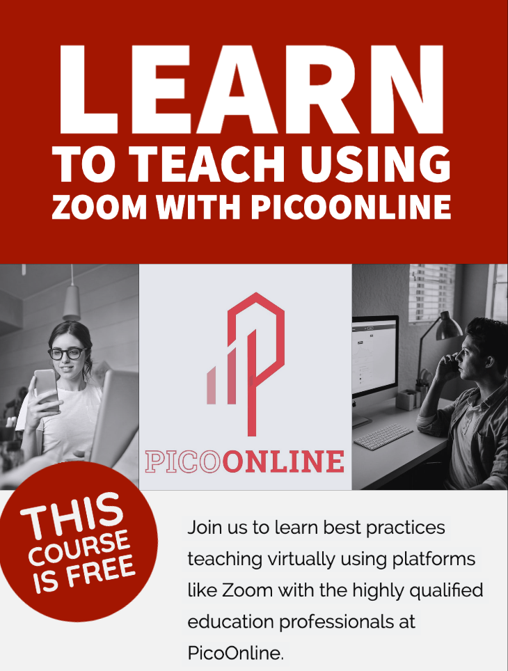 Learn to Teach with Zoom