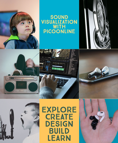 PicoOnline Summer Camp Week 5: Sound Visualization