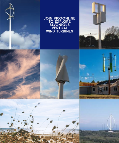 PicoOnline Summer Camp: Week 2: Exploring Savonious Vertical Wind Turbines
