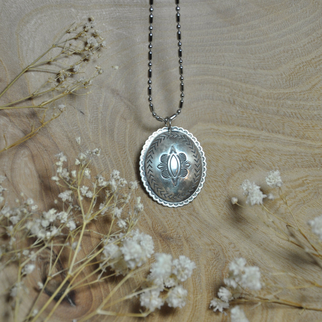 sterling charm necklace